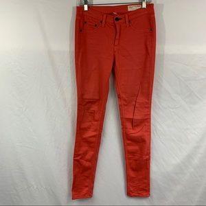 Rag & Bone Aritzia Spiced Coral Skinny Pants